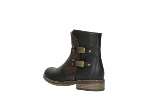 wolky ankle boots 04439 emerald 50300 brown oiled leather_4