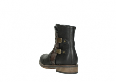 wolky ankle boots 04439 emerald 50300 brown oiled leather_5