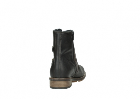 wolky ankle boots 04439 emerald 50300 brown oiled leather_8