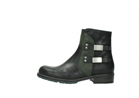wolky ankle boots 04439 emerald 50730 forest green oiled leather_1