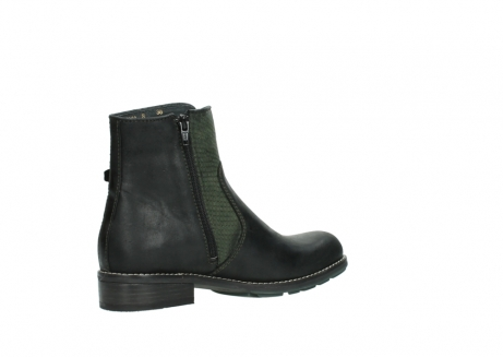 wolky ankle boots 04439 emerald 50730 forest green oiled leather_11