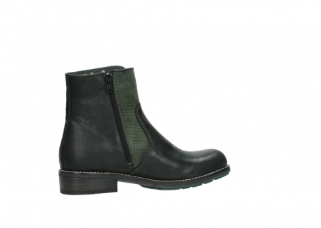 wolky ankle boots 04439 emerald 50730 forest green oiled leather_12