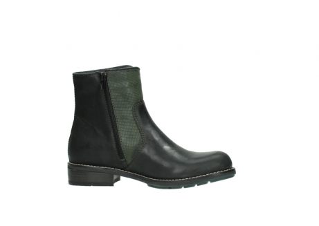 wolky ankle boots 04439 emerald 50730 forest green oiled leather_14