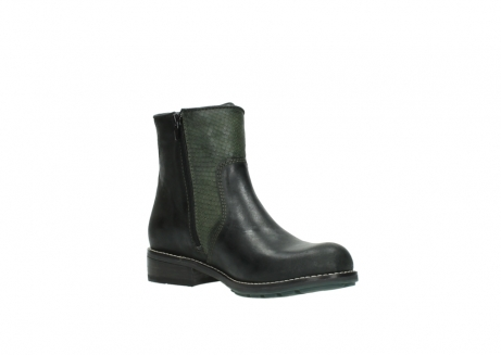 wolky ankle boots 04439 emerald 50730 forest green oiled leather_16