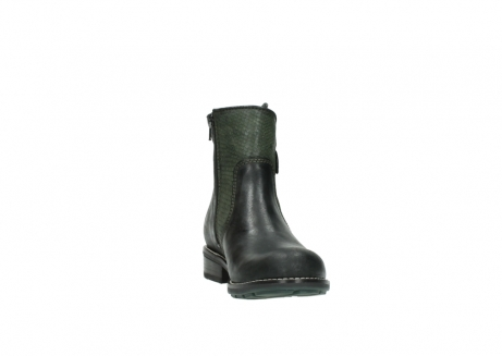 wolky ankle boots 04439 emerald 50730 forest green oiled leather_18