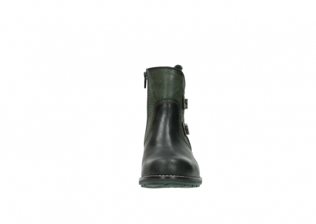 wolky ankle boots 04439 emerald 50730 forest green oiled leather_19