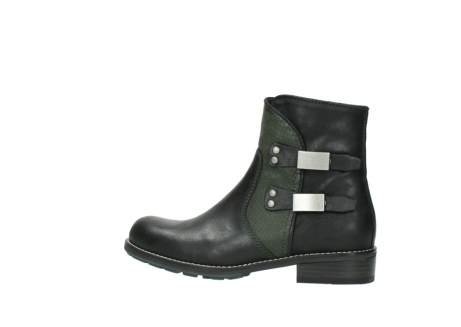 wolky ankle boots 04439 emerald 50730 forest green oiled leather_2