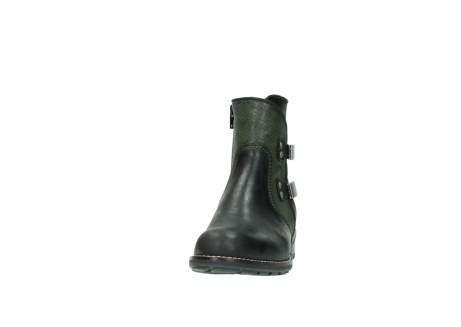 wolky ankle boots 04439 emerald 50730 forest green oiled leather_20