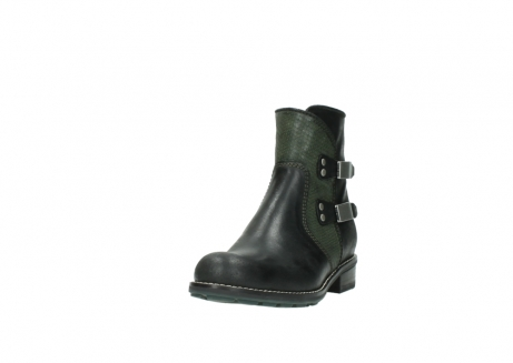 wolky ankle boots 04439 emerald 50730 forest green oiled leather_21