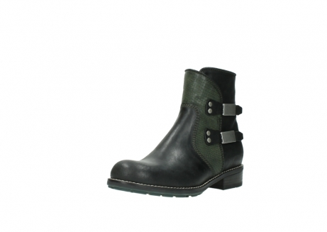wolky ankle boots 04439 emerald 50730 forest green oiled leather_22