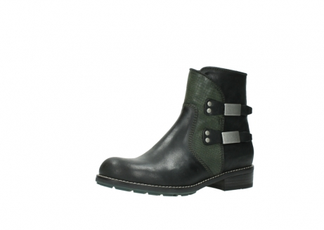 wolky ankle boots 04439 emerald 50730 forest green oiled leather_23