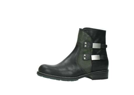 wolky ankle boots 04439 emerald 50730 forest green oiled leather_24