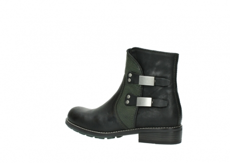 wolky ankle boots 04439 emerald 50730 forest green oiled leather_3