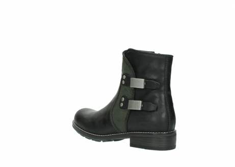 wolky ankle boots 04439 emerald 50730 forest green oiled leather_4