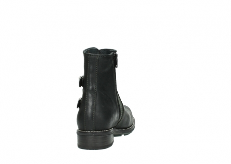 wolky ankle boots 04439 emerald 50730 forest green oiled leather_8