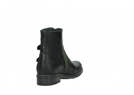 wolky ankle boots 04439 emerald 50730 forest green oiled leather_9