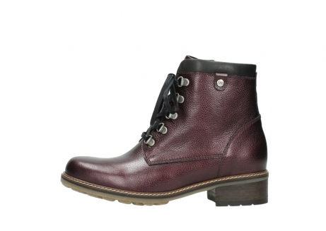 wolky bottines a lacets 04475 ronda 81510 cuir bordeaux_1
