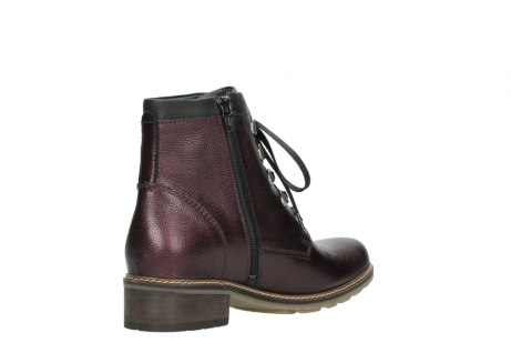 wolky bottines a lacets 04475 ronda 81510 cuir bordeaux_10