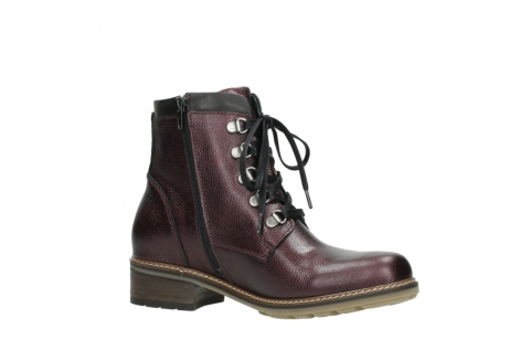 wolky bottines a lacets 04475 ronda 81510 cuir bordeaux_15