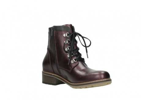 wolky bottines a lacets 04475 ronda 81510 cuir bordeaux_16