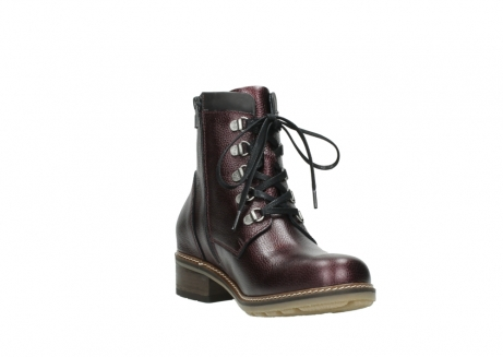 wolky bottines a lacets 04475 ronda 81510 cuir bordeaux_17