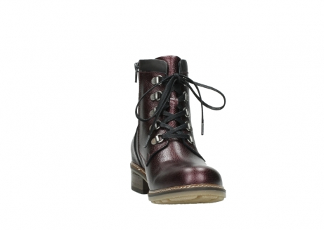 wolky bottines a lacets 04475 ronda 81510 cuir bordeaux_18