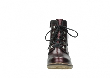 wolky bottines a lacets 04475 ronda 81510 cuir bordeaux_19