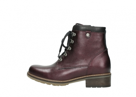 wolky bottines a lacets 04475 ronda 81510 cuir bordeaux_2