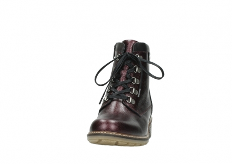 wolky bottines a lacets 04475 ronda 81510 cuir bordeaux_20