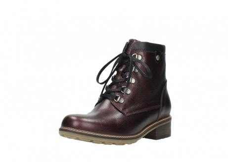 wolky bottines a lacets 04475 ronda 81510 cuir bordeaux_22