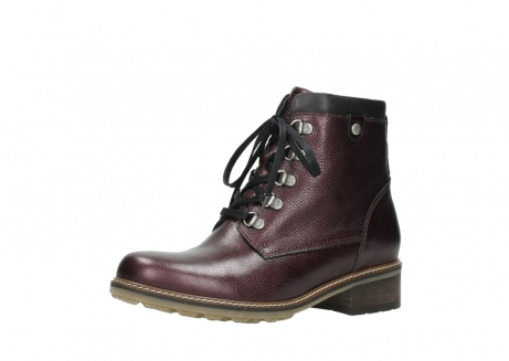 wolky bottines a lacets 04475 ronda 81510 cuir bordeaux_23