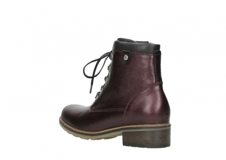 wolky bottines a lacets 04475 ronda 81510 cuir bordeaux_4