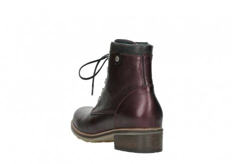 wolky bottines a lacets 04475 ronda 81510 cuir bordeaux_5