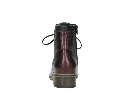 wolky bottines a lacets 04475 ronda 81510 cuir bordeaux_7