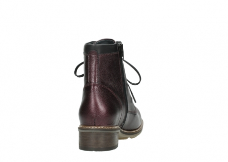 wolky bottines a lacets 04475 ronda 81510 cuir bordeaux_8