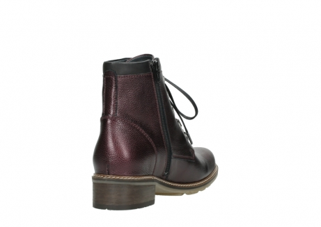 wolky bottines a lacets 04475 ronda 81510 cuir bordeaux_9