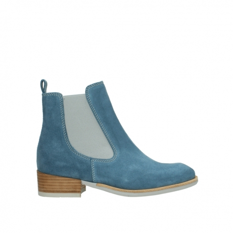 wolky ankle boots 04512 masala 40820 denim blue oiled suede