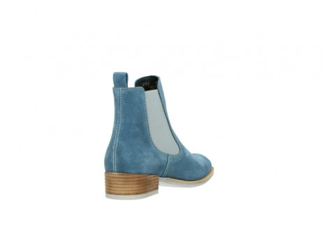wolky ankle boots 04512 masala 40820 denim blue oiled suede_9