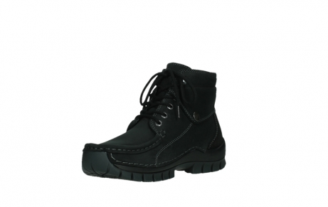 wolky ankle boots 04736 jump winter cw 50000 black leather cold winter warm lining_10