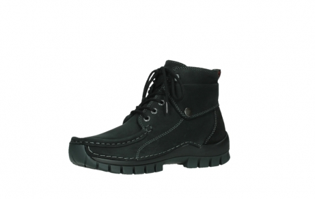 wolky ankle boots 04736 jump winter cw 50000 black leather cold winter warm lining_11