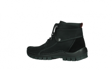 wolky ankle boots 04736 jump winter cw 50000 black leather cold winter warm lining_15