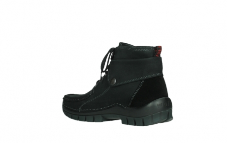 wolky ankle boots 04736 jump winter cw 50000 black leather cold winter warm lining_16