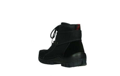 wolky ankle boots 04736 jump winter cw 50000 black leather cold winter warm lining_17