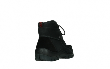 wolky ankle boots 04736 jump winter cw 50000 black leather cold winter warm lining_21