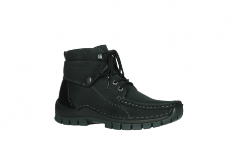 wolky ankle boots 04736 jump winter cw 50000 black leather cold winter warm lining_3