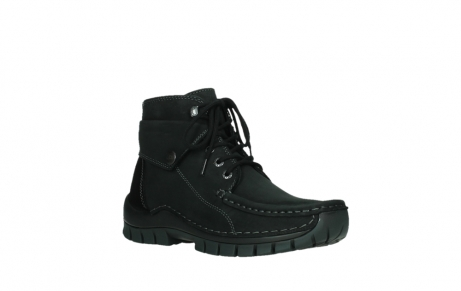 wolky ankle boots 04736 jump winter cw 50000 black leather cold winter warm lining_4