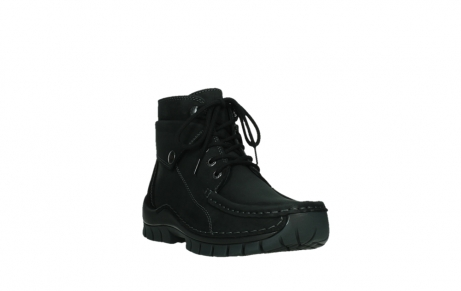 wolky ankle boots 04736 jump winter cw 50000 black leather cold winter warm lining_5