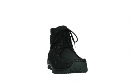 wolky ankle boots 04736 jump winter cw 50000 black leather cold winter warm lining_6