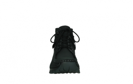 wolky ankle boots 04736 jump winter cw 50000 black leather cold winter warm lining_7