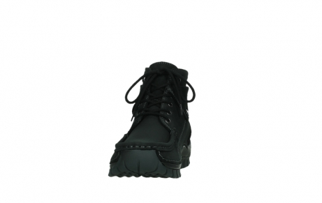 wolky ankle boots 04736 jump winter cw 50000 black leather cold winter warm lining_8